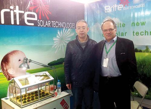 "Brite Solar in ""Η Αλήθεια της Μακεδονίας"" magazine"