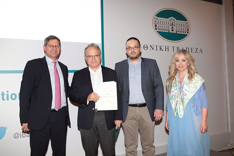 Brite Solar is the 3rd winner of the 8th Innovation and Technology competition of NBG