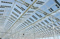 Brite Solar 1082 sq. m. Pilot Greenhouse with Solar Glass